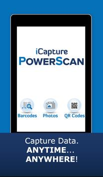 iCapture PowerScan poster