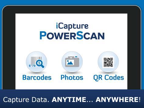 iCapture PowerScan apk screenshot