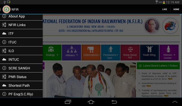NFIR apk screenshot
