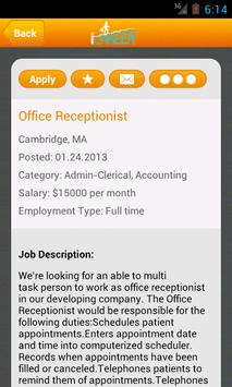 iCareer Jobs apk screenshot