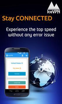 IceVPN Free VPN Client apk screenshot