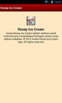 Resep Ice Cream apk screenshot