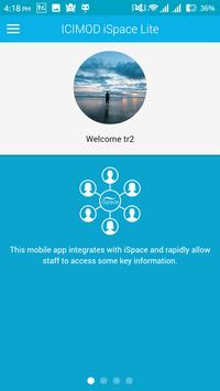 ICIMOD iSpace App apk screenshot