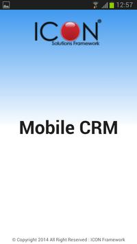 ICON CRM poster