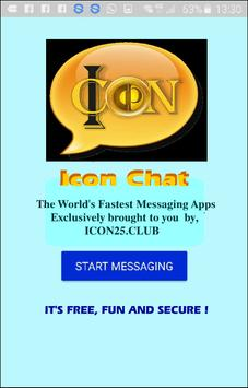 Icon Chat poster