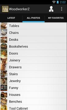 Woodworking Projects apk screenshot