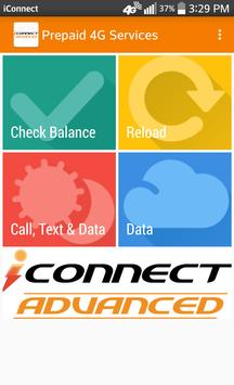 iConnect Advanced Prepaid 4G poster