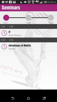 PAPS 2015 apk screenshot