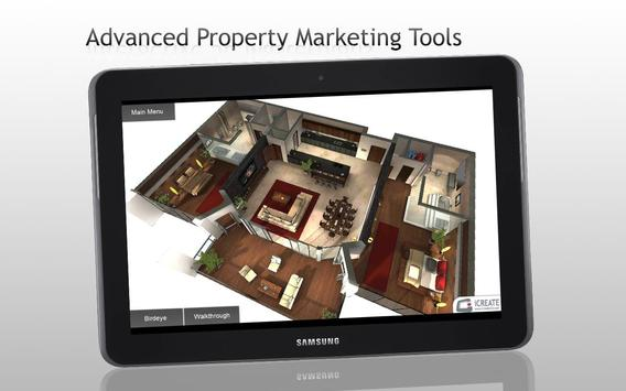 iCreate 3D Property Marketing poster