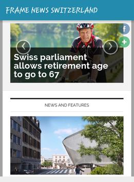 FRAME NEWS SWITZERLAND apk screenshot