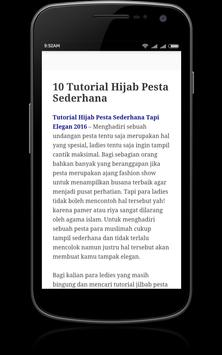 Tutorial Hijab apk screenshot