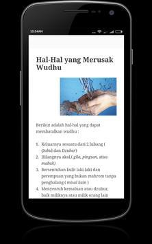 Panduan Wudhu apk screenshot