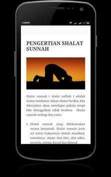 Panduan Sholat Sunnah poster