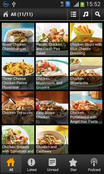 100 Easy Chicken Recipes poster