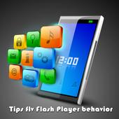 Tips flv Flash Player behavior icon