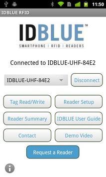 IDBLUE RFID poster