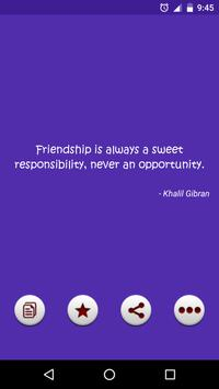 True Friendship Quotes apk screenshot