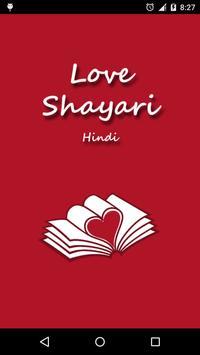 Love Shayari Hindi poster