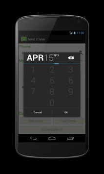 Send it later apk screenshot