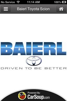 Baierl Toyota Scion poster