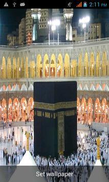 Makkah Madina Live Wallpaper apk screenshot