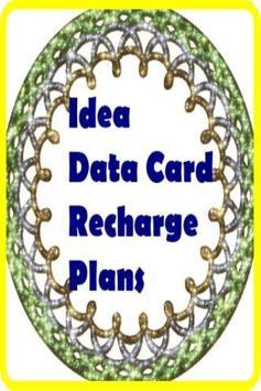Idea Data Card Recharge Plans apk screenshot