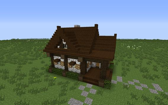 Cool House Minecraft Building apk screenshot