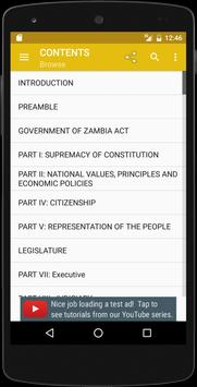 Zambian Constitution apk screenshot