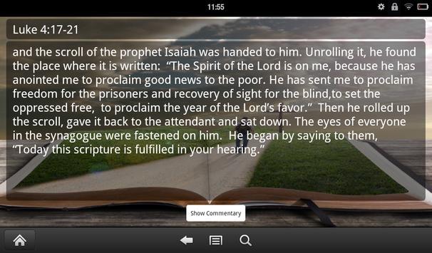 Jesus Speaks: Daily Bible Free apk screenshot
