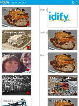 Idify Timeline apk screenshot