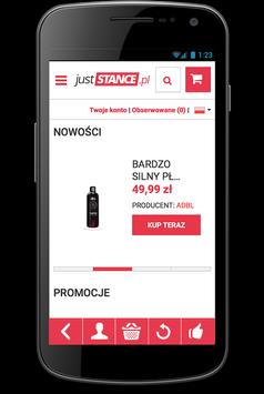 Sklep Juststance.pl apk screenshot