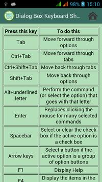 Computer Keyboard Shortcuts apk screenshot