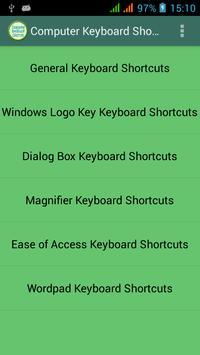 Computer Keyboard Shortcuts poster