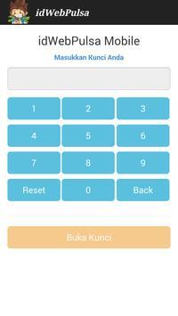 idwebpulsa mobile apk screenshot