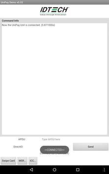 ID TECH UniPay Demo apk screenshot