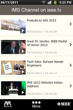 IMS2013 apk screenshot