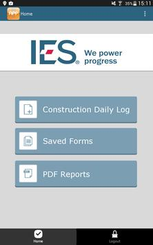 IES Daily Log App poster