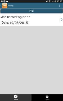 IES Daily Log App apk screenshot