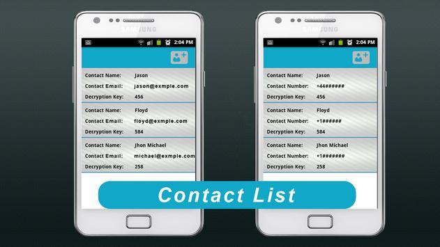 Secret Message apk screenshot