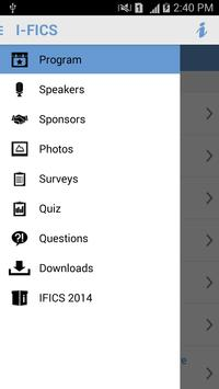 IFICS 2014 apk screenshot