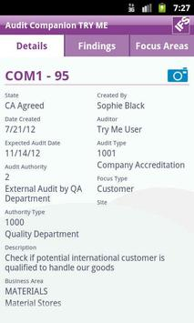 IFS Audit Companion apk screenshot