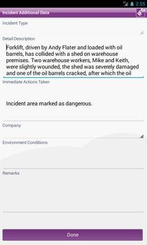 IFS Incident Reporter apk screenshot