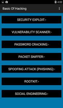 Hacking Awareness apk screenshot