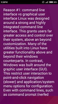 Hacking Linux apk screenshot