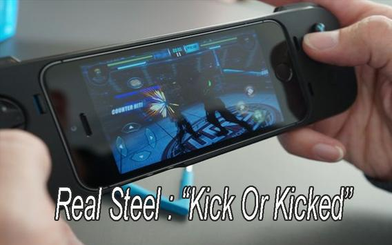 New REAL STEEL CHAMPION Tricks poster