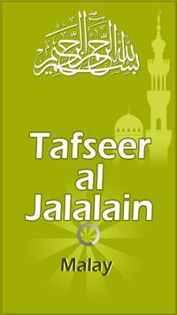 Tafsir Al Jalalyn - Melayu poster