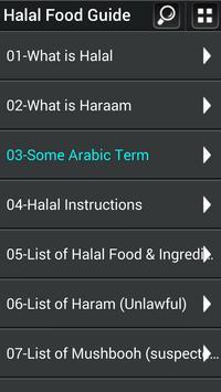 Halal Food Recipes Guide apk screenshot