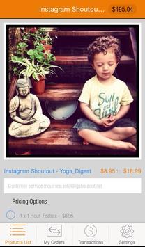 IGS Customer - Instagram Promo apk screenshot