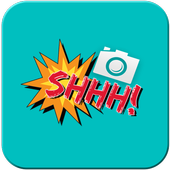 Photo Editor & Stickers:Camera icon