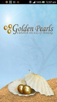Golden Pearls - Daily Quotes poster